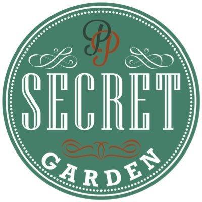 secret garden cafe in cardiff - logo