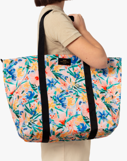 Weekend away bag recycled by WOULF