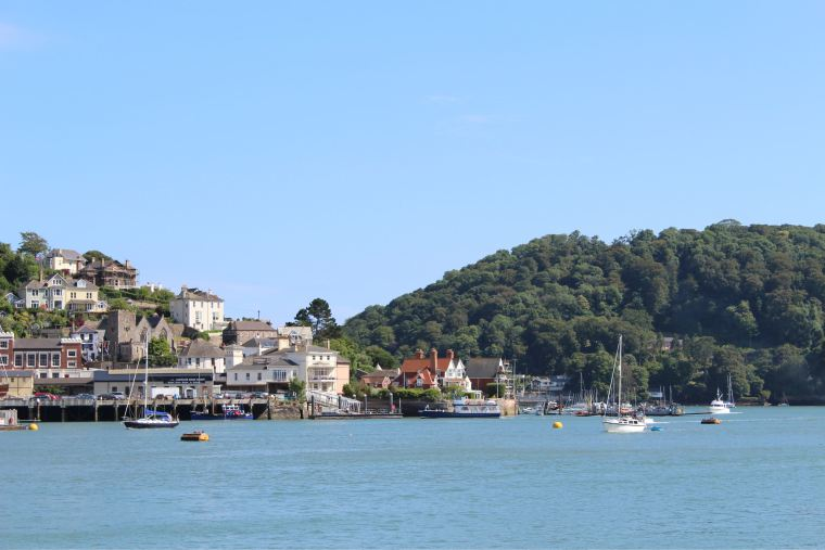 view of dartmouth and river