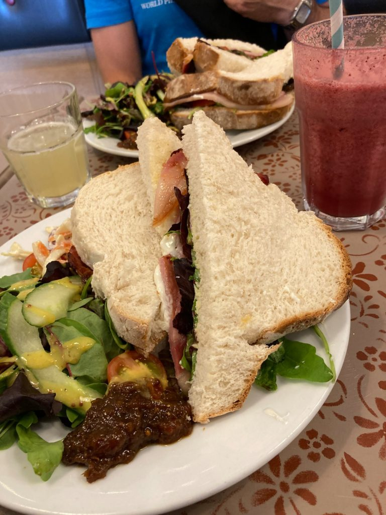 good food cafe and deli in lyme regis - sandwich lunch
