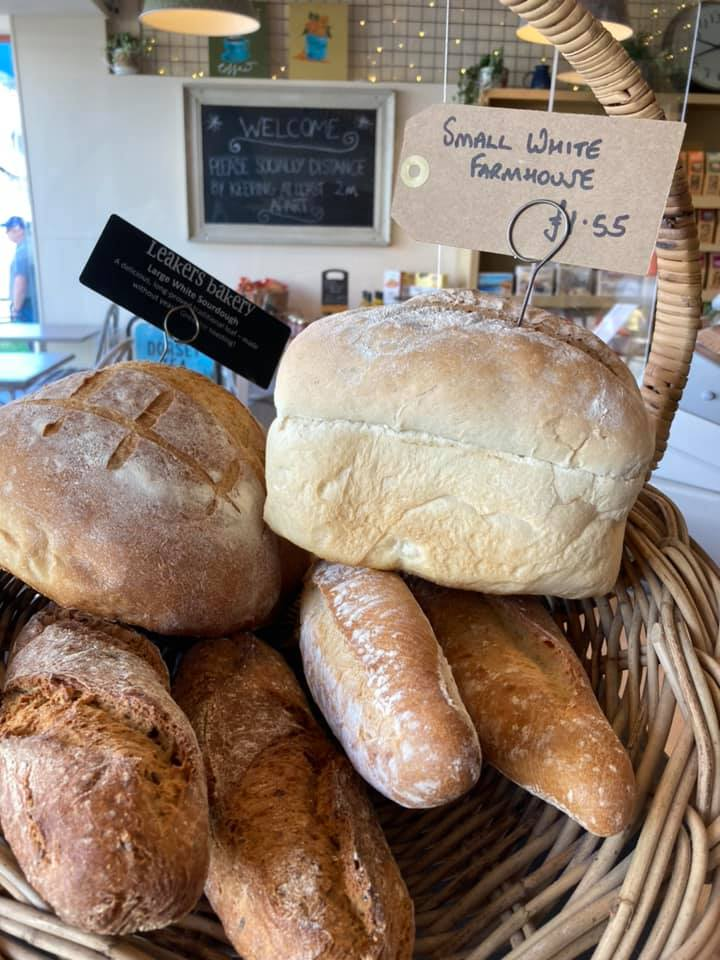 good food cafe and deli in lyme regis - bread on sale