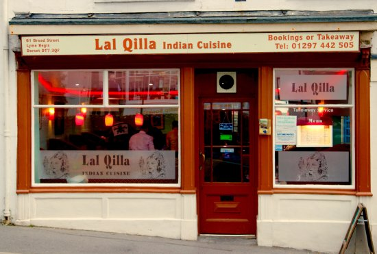 outside of lal qilla india lyme regis
