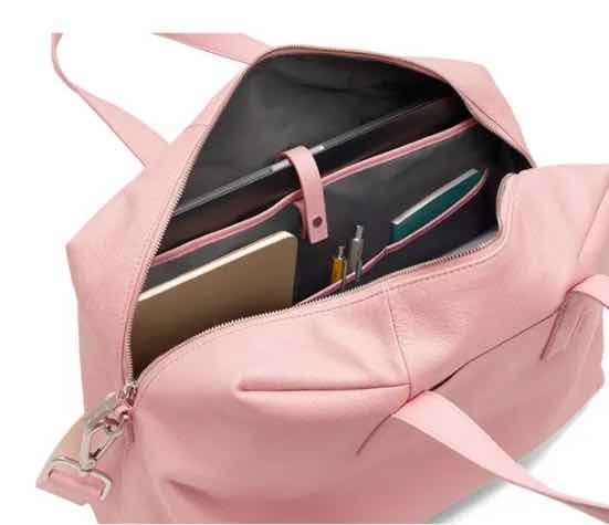 The Everywhere weekend away bag in blush pink