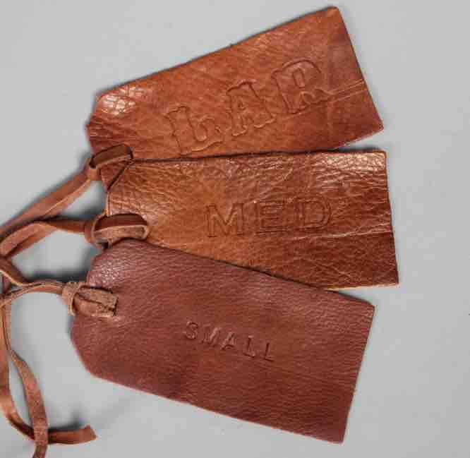 Vintage Child leather weekend away bag