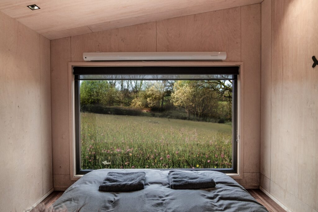 Hidey-Hole-Glamping-East-Sussex picture window