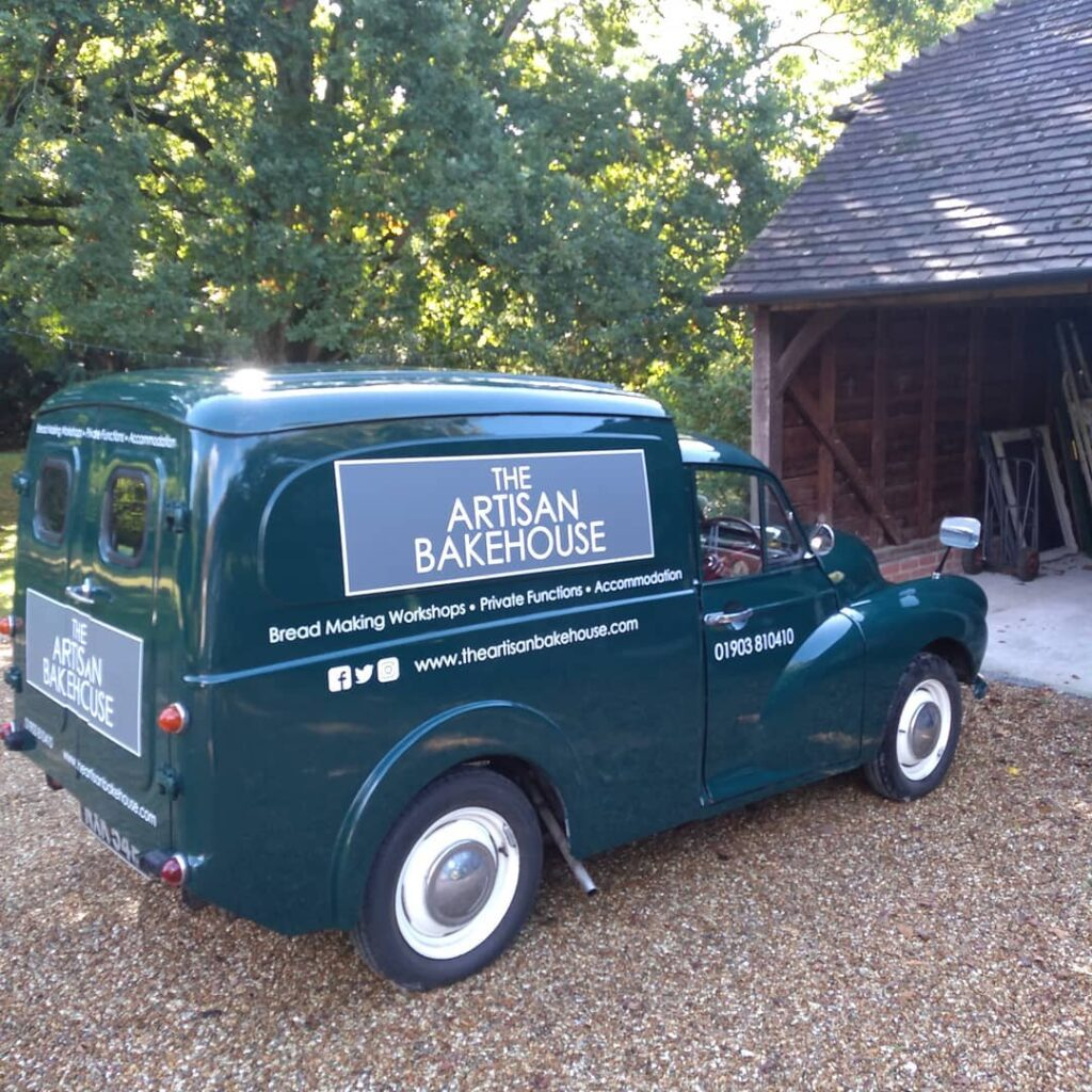 bakehouse west sussex - glamping and baking experiences - mobile van