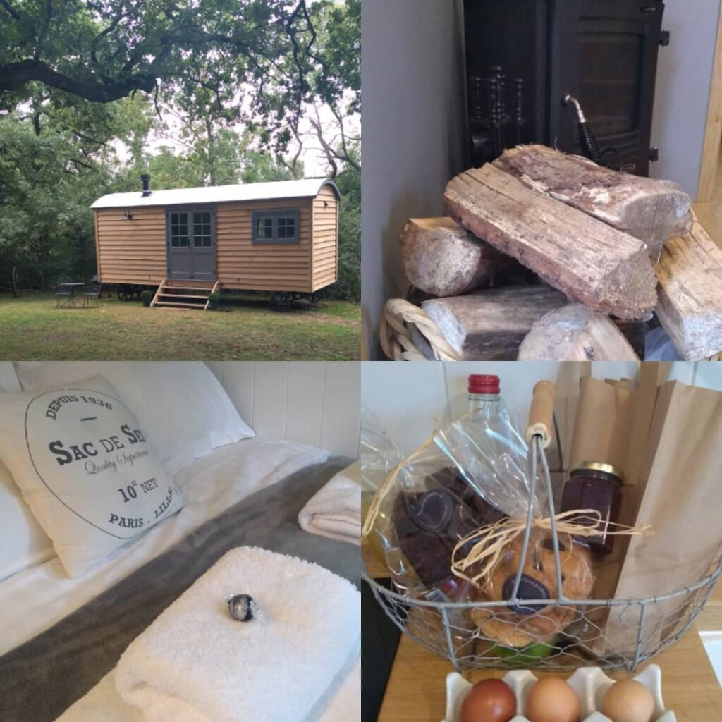 bakehouse west sussex - glamping and baking experiences - shepherd's hut