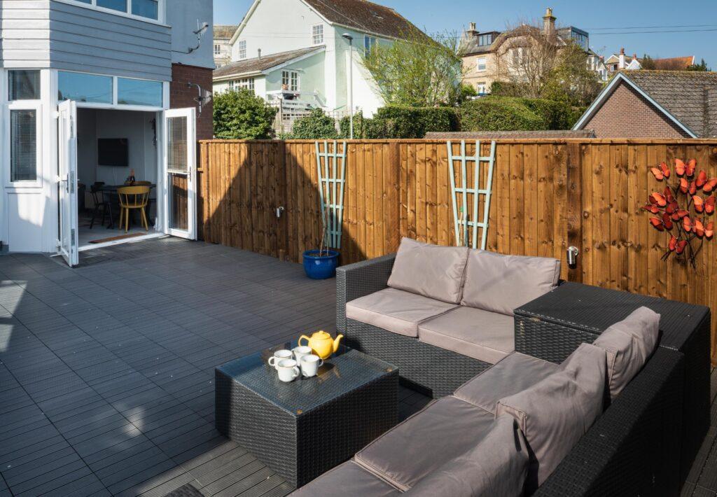 dog-friendly accommodation lyme regis terrace towards house