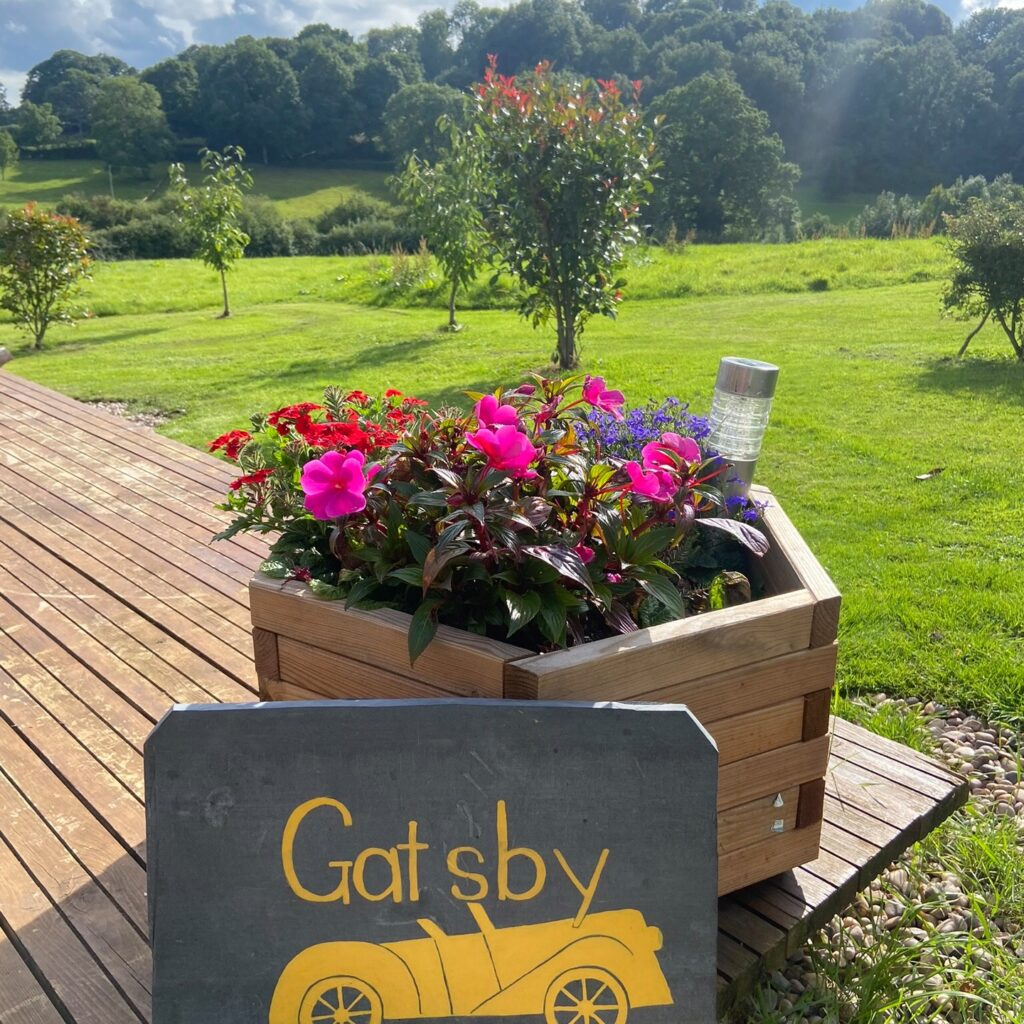 mrs-mills-yurts-forest-of-dean-glamping signage