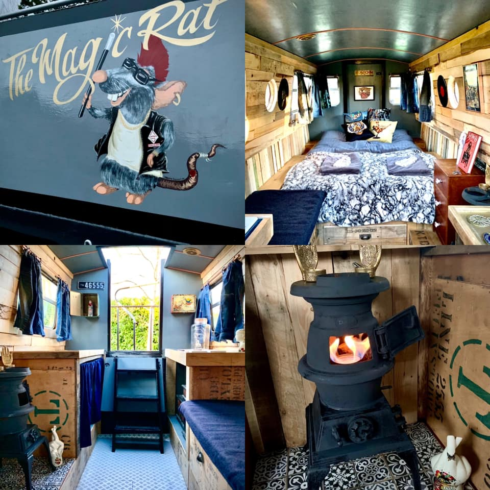 The Meadow Glamping in Hampshire - magic rat