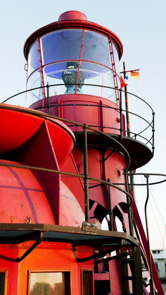 SULA-Lightship-Gloucester-Docks light tower