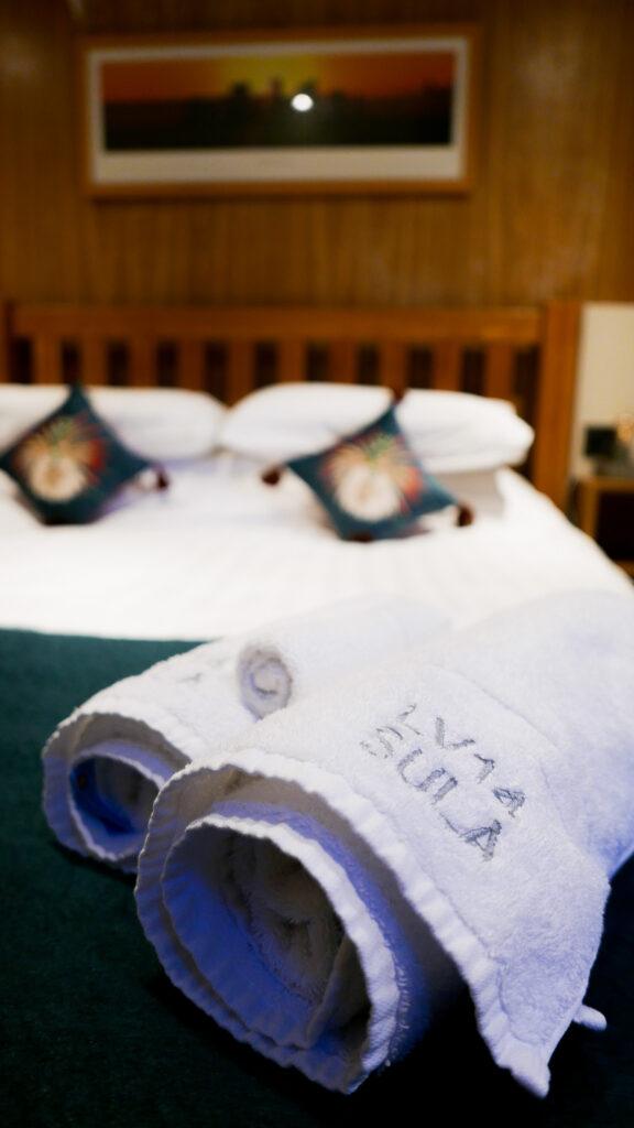 SULA-Lightship-Gloucester-Docks complimentary towels