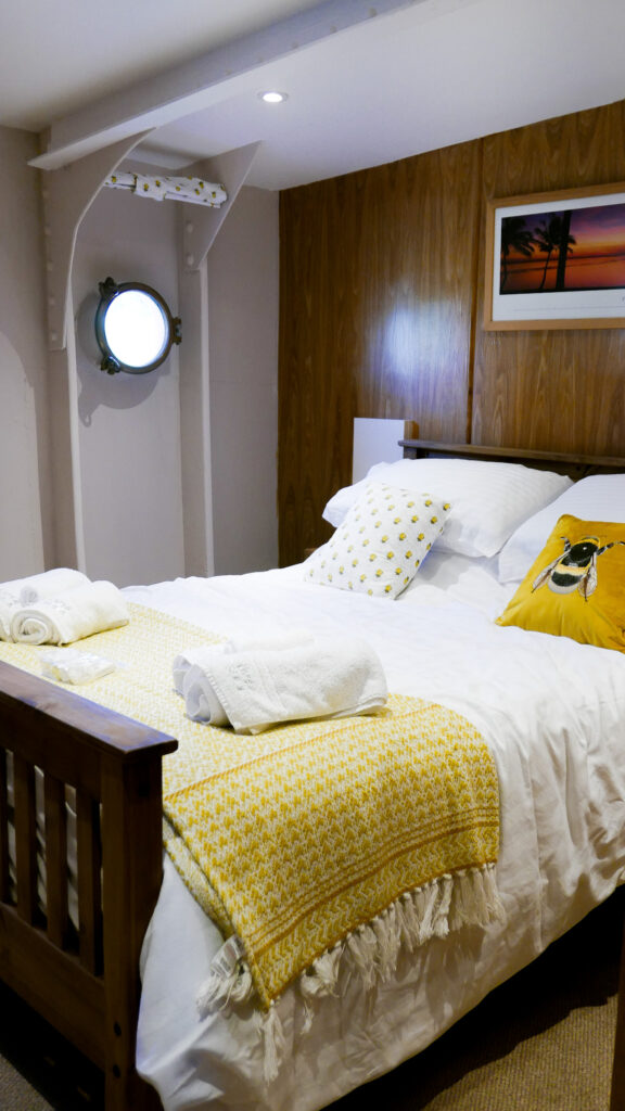 SULA-Lightship-Gloucester-Docks second bedroom
