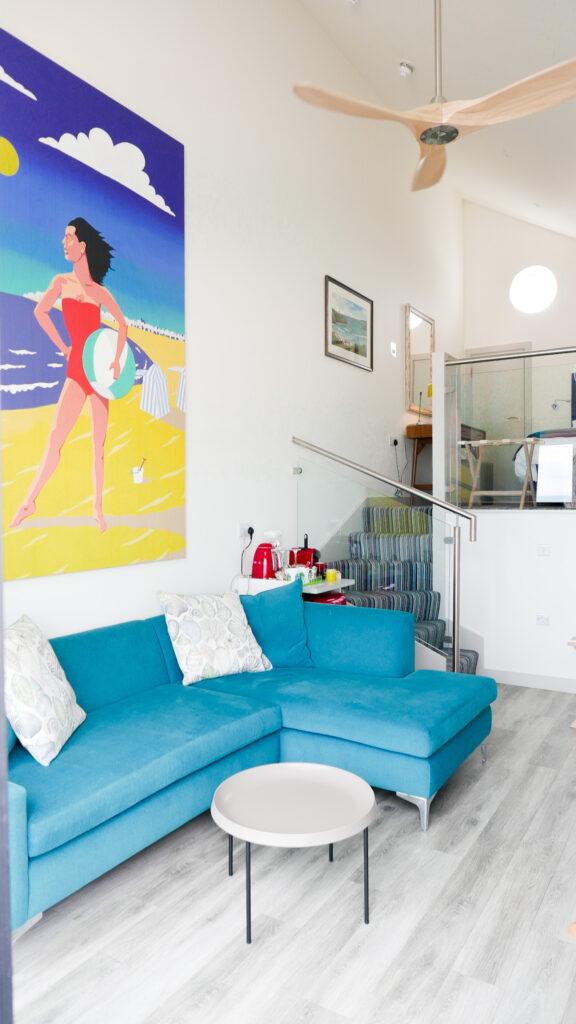 beachcroft-beach-huts: living space