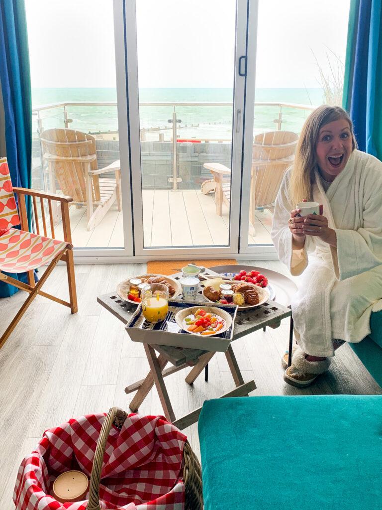 beachcroft-beach-huts: breakfast