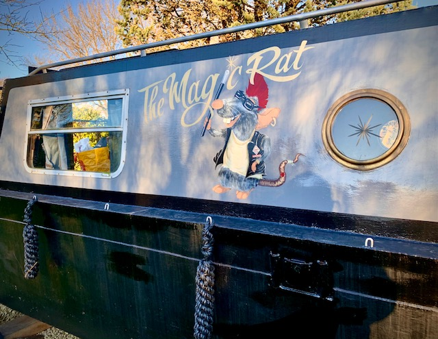 The Meadow Glamping in Hampshire - Magic Rat logo