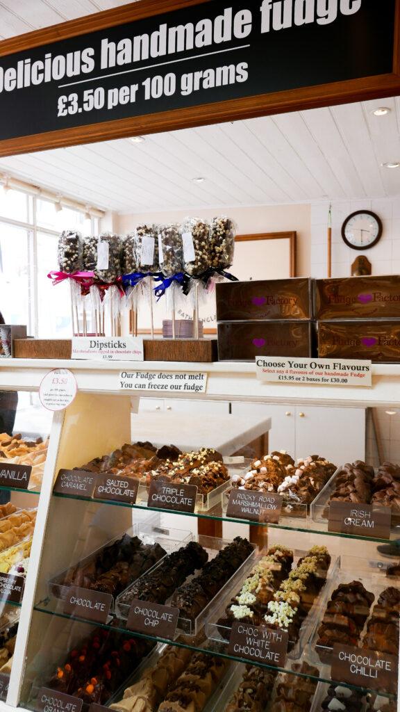 FOOD-TOUR-BATH- fudge shop