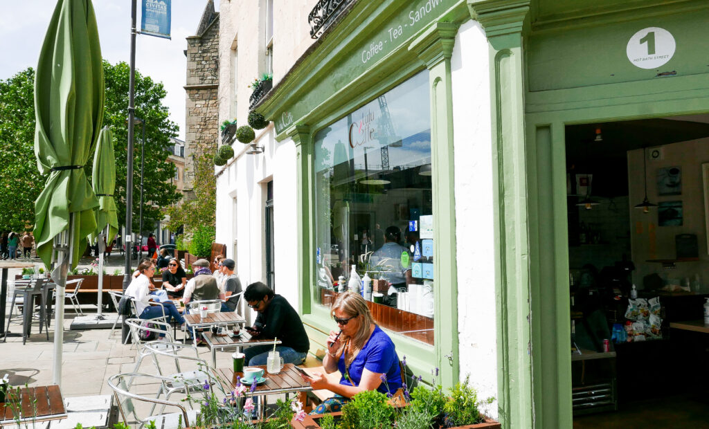 FOOD-TOUR-BATH coffee shop