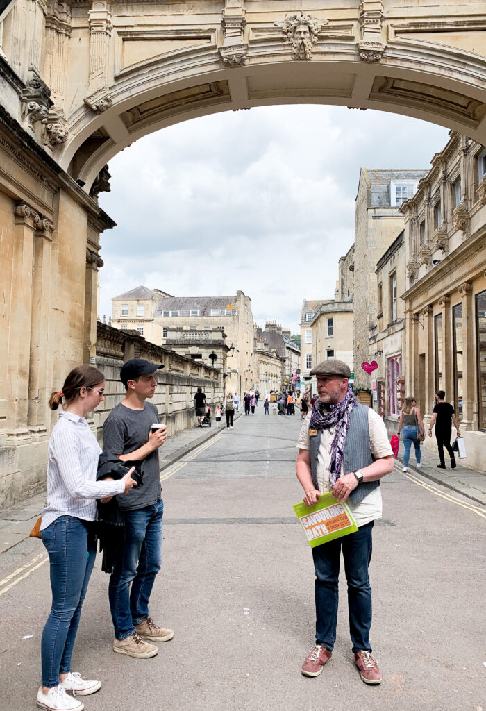 FOOD-TOUR-BATH mike james and guests