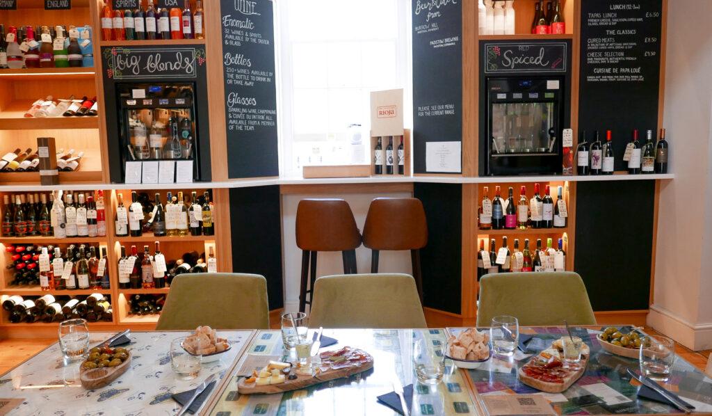 FOOD-TOUR-BATH- cheese in wine bar