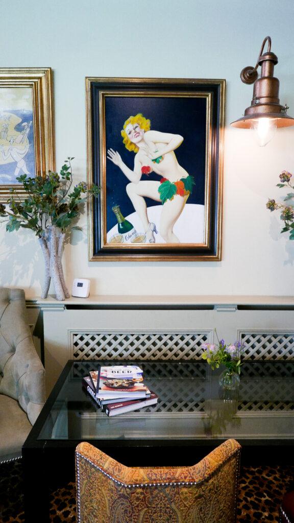 eastbury_hotel-sherborne restaurant art