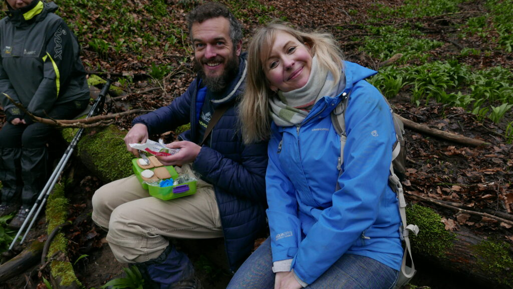 Rob Gould - The Cotswold Forager - Rob and Claire Robinson