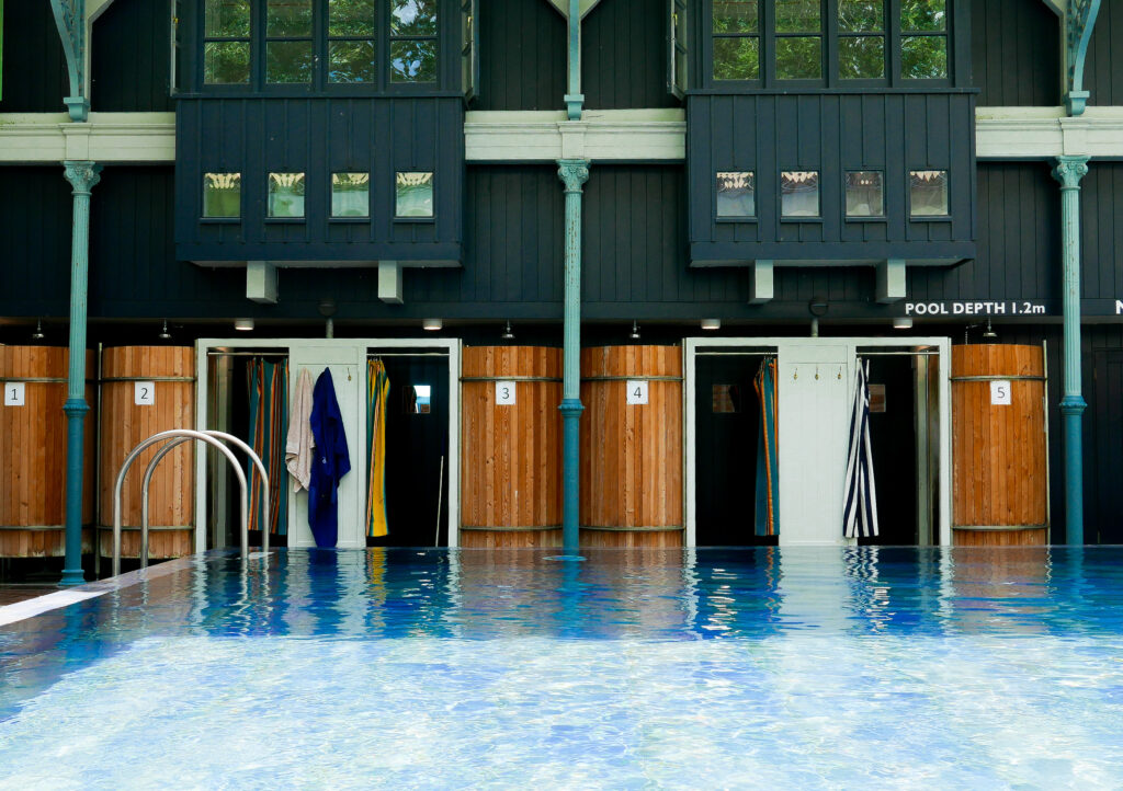 Thames Lido in Reading - pool