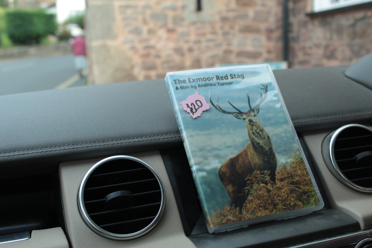 Red stag safari exmoor - with Andre Turner