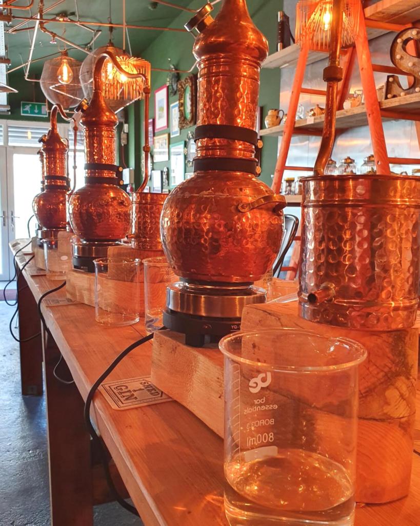 Shed 1 gin stills in distillery