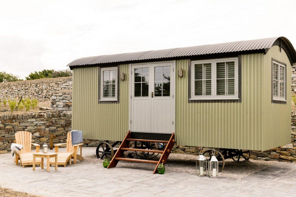 Shepherds Huts Cornwall - Rick Stein's huts in St Merryn