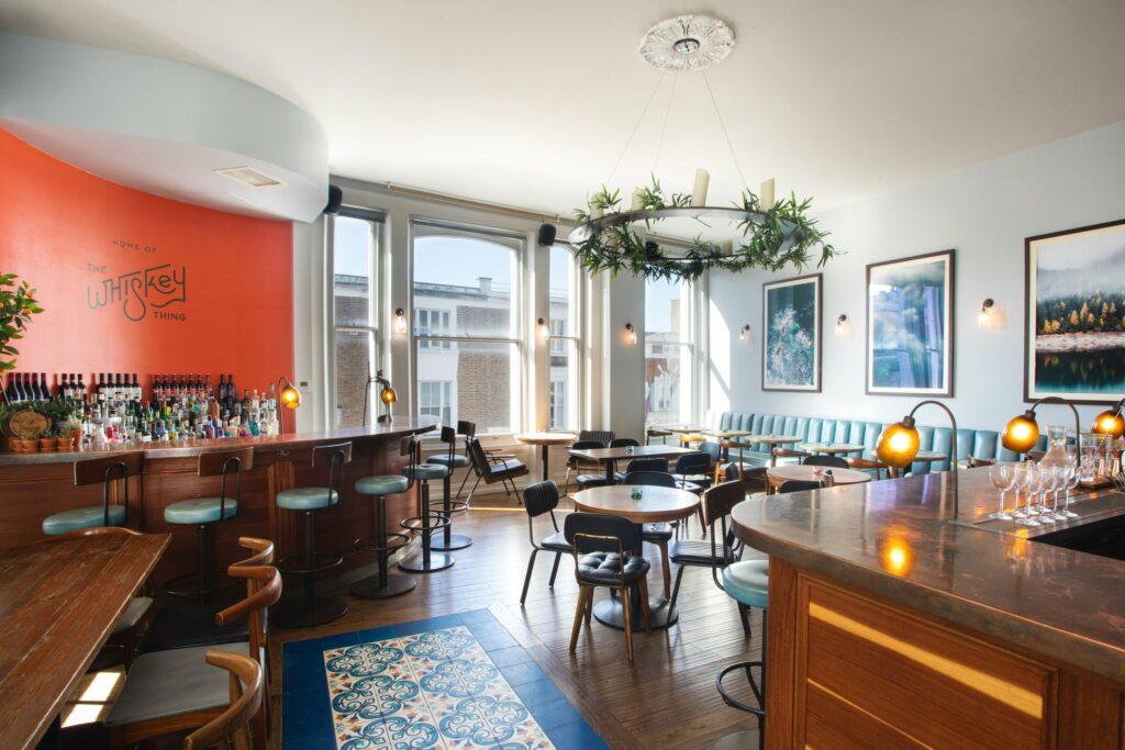 The Distillery Gin Hotel Portobello Road London - Malt Floor