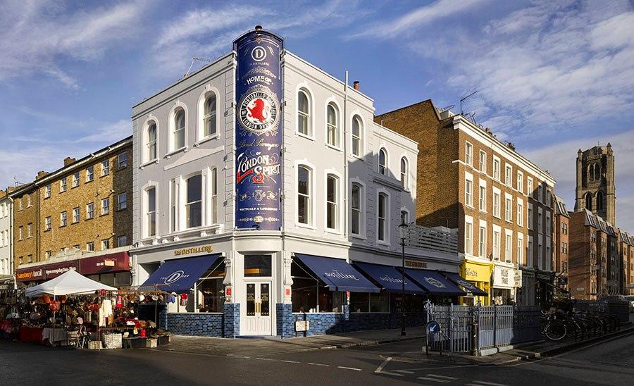 The Distillery Gin Hotel Portobello Road London - outside view