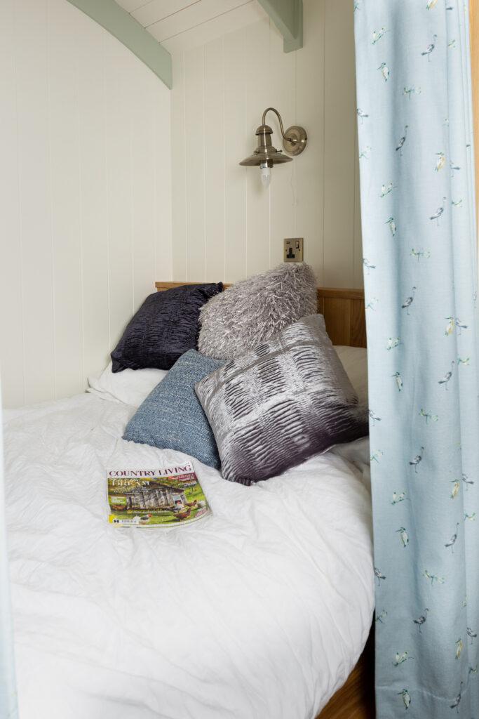 ewe-glamping-northamptonshire - bedroom