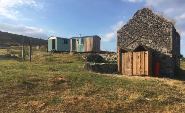Shepherds Huts Cornwall - huts on bodmin moor