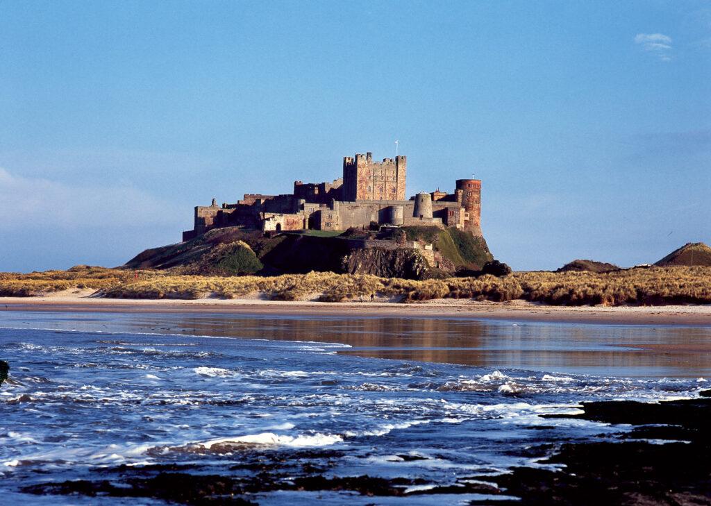 Northumberland castles - bamburgh