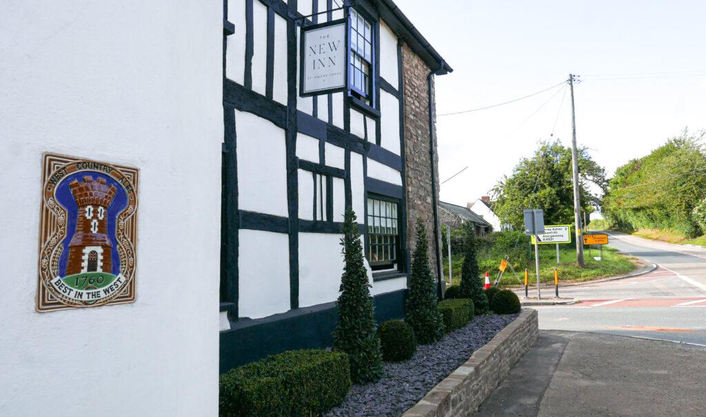 new inn st owens cross: outside