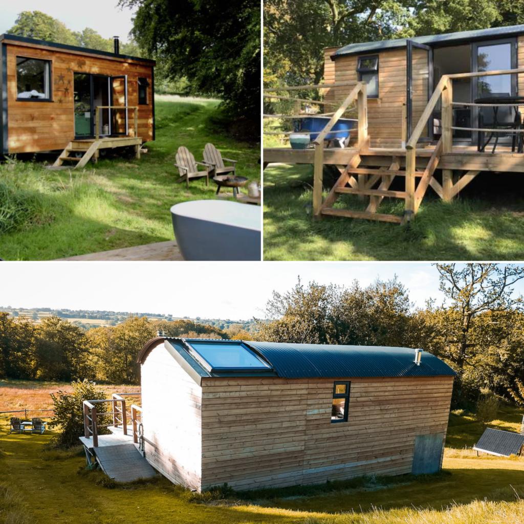Royal Oak Farm Glamping cabins Honiton, Devon