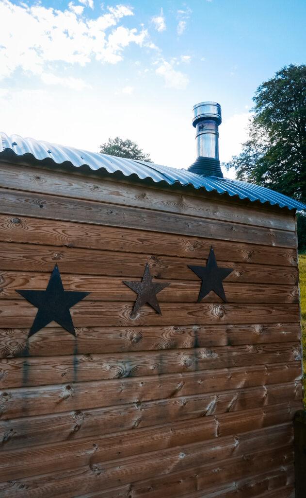 royal oak stargazing cabins devon stars