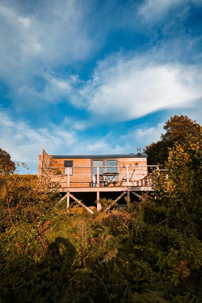 royal oak stargazing cabins devon