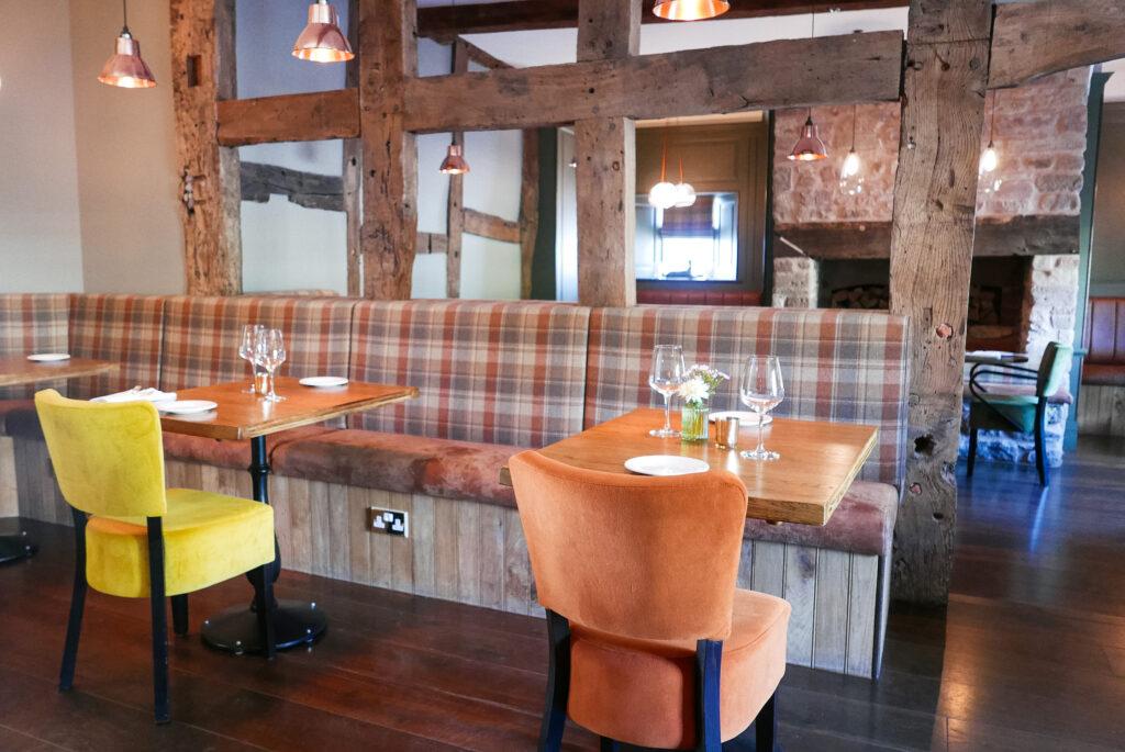 new inn st owens cross: dining room