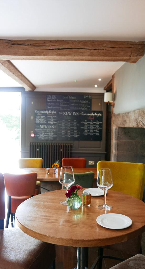 new inn st owens cross: bar